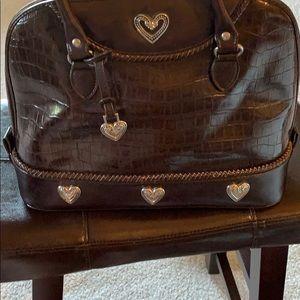 Handbags - Chocolate brown Brighton inspired purse